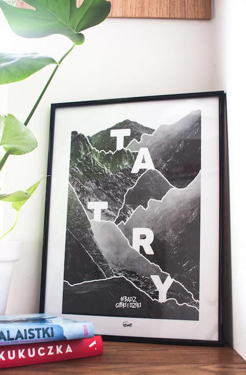 plakat górski Tatry