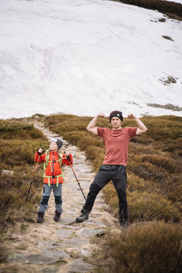 babia góra z dzieckiem